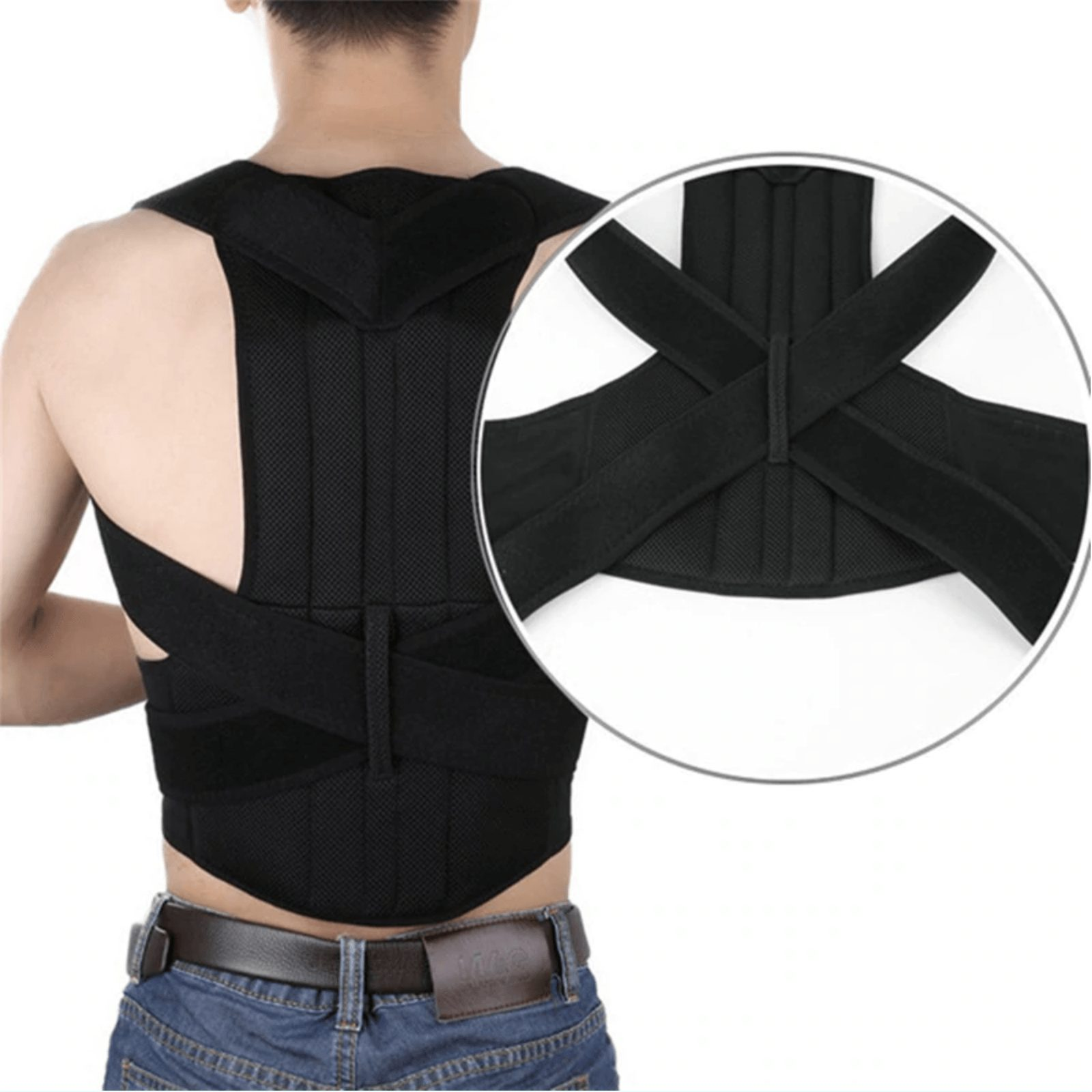 posture corrector better posture less back pain scoliosis