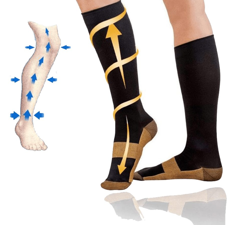 copper compression socks main image