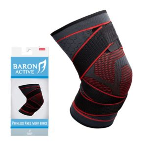 painless knee wrap brace knee support knee pain protection compression sports sleeve