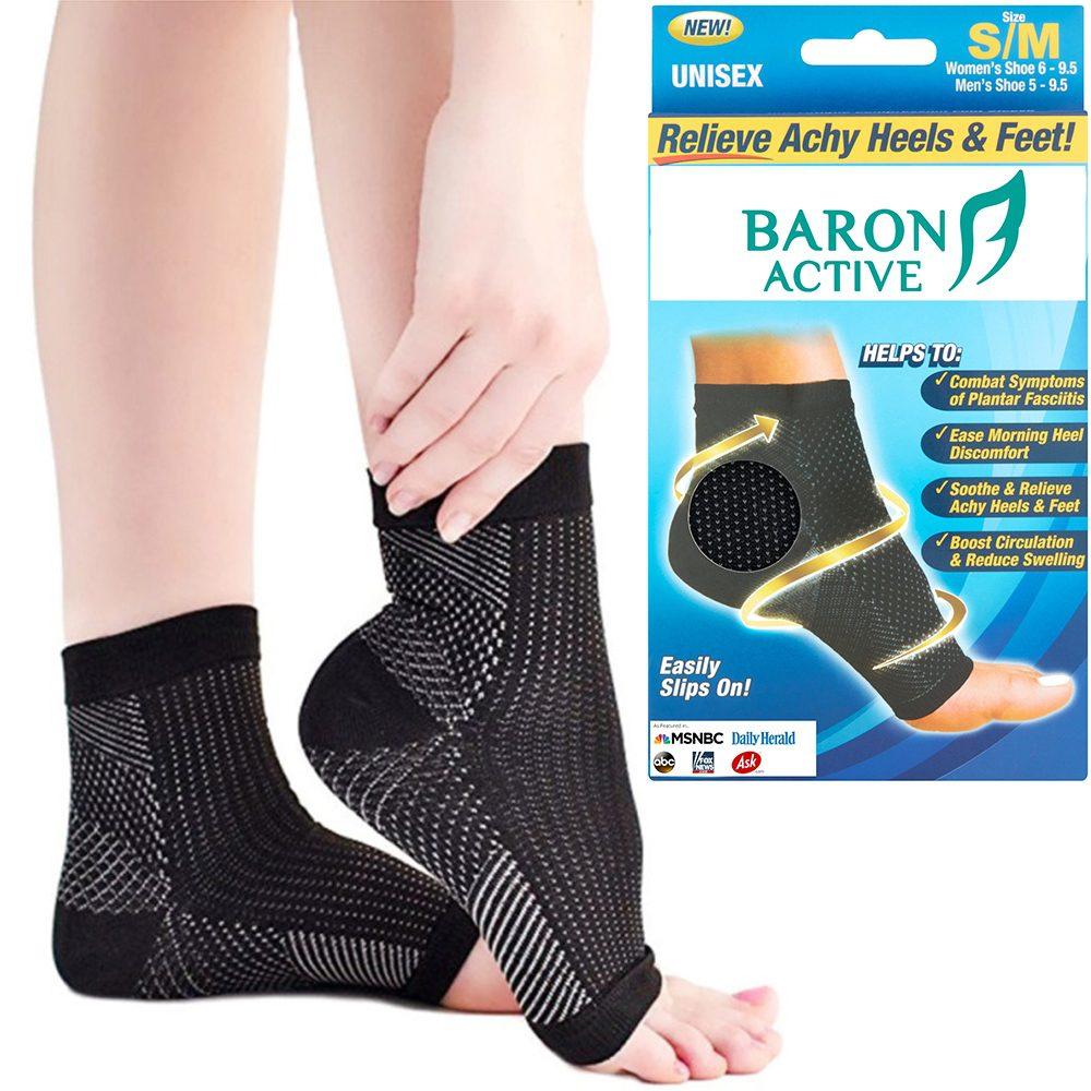 pain relief foot compression sleeves foot angel plantar fasciitis socks