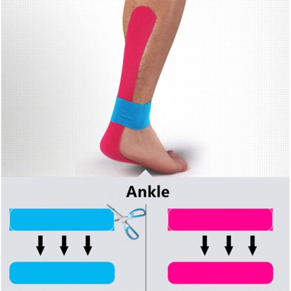 professional kinesiology tape health sports medicine wrap relief regeneration recovery
