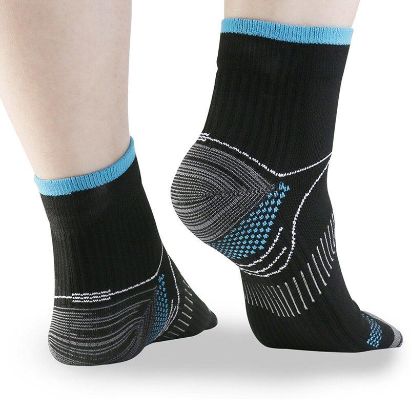 baronactive graduated compression running ankle socks