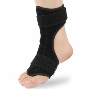 drop foot plantar fasciitis achilles tendonitis heel spur ankle support brace splint