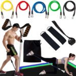Full Body Home Workout Resistance Bands Set